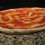 Pizzeria Romas Fresh dough