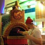 Pizzeria Romas pizzaiolo