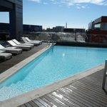 Heated outdoor pool on 3rd floor
