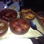 some of our delicious tapas selection.