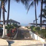 Acceso a zona de playa