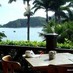 restaurante y vista a Joao Fernandes