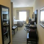 Nice room but not what I would normally qualify as a suite.