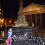 Bikes in front of the Pantheon