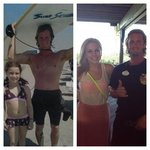 10 years ago Brent the bartender taught our daughter how to surf at hotel.