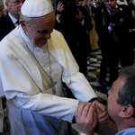 Me meeting Pope Francis