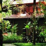 The RiverGarden: 2 traditional style villas set in jungle gardens
