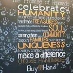 Very cool handmade pledge at Buy hand