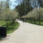 Park is very clean with nice walkways and trails.