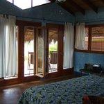 inside the spacious Casa Bela