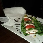 Caprese salad with home made mozzarella cheese!