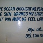 sign in The Billfish