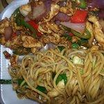 jalapeno chicken & lo mein