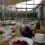 Breakfast atrium