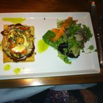 A Salmon and Crab Tart