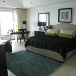 Master bedroom was oversized and the bed was heaven