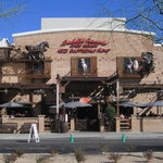 Front view of Saddle Ranch