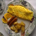 Yummy!  Cheese Omelet.