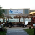 Waves restaurant at Marika Hotel