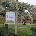 Entrance to Hidden Cottages