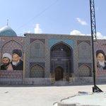 mausoleum attached to Ali mosque