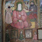 a Shia icon depicting Muhammad and Ali