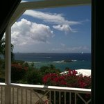 View from bedroom window, Cruzan view!