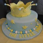 The Little Prince (custom cake for baby shower)