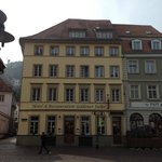As viewed from the main square in Aldstadt