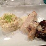 délicieux filet de poulet et risotto