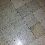 piso sucio
