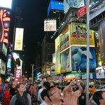 Times Square fronte entrata hotel