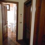 corridoio camere e bagno