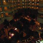 Internal view of hotel