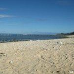 Raro beach (not at the Muri - elsewhere)