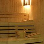 La sauna del centro benessere residence la piscina