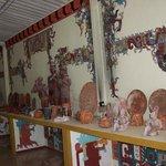 Alrededores replicas mayas.