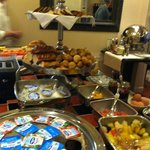 Breakfast Buffet, Villa Lara