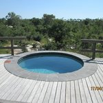 Wonderful pool to cool after the safari