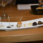 food paired with tasting