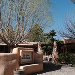 Front entrance to Old Taos Guesthouse