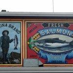Yaquina Salmon Ad