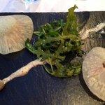 raviole végétal de saumon