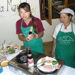Matlagningsskola på gång