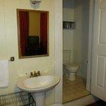 Room/door to bathroom