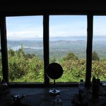 View from the bathroom of Bunyonyi