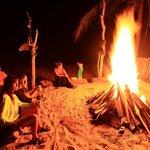 Fugata en la playa de la Finca Escondida en Palomino