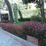 giardino privato del Villino