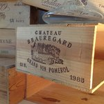 Our collection of old wooden wine crates