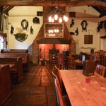Th Ow'd Tithe Barn Dinning Room